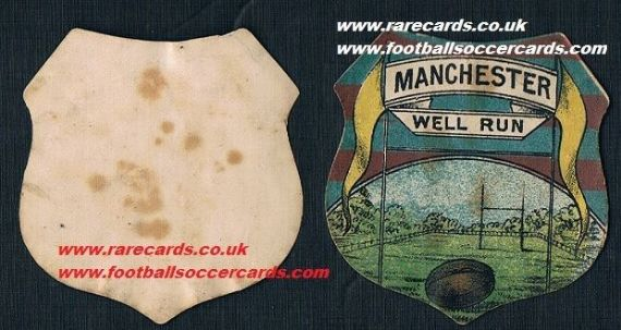 1880 Manchester FC shield 1st card?